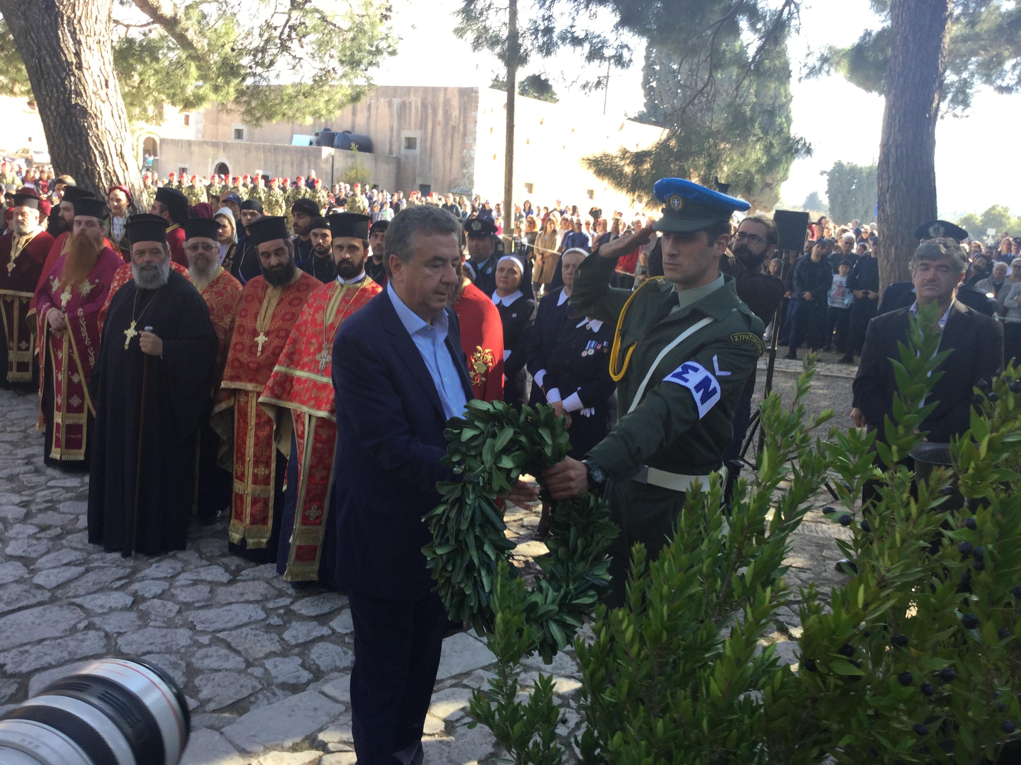 5-1 Η Κρήτη τιμά τους Ήρωες του Αρκαδίου