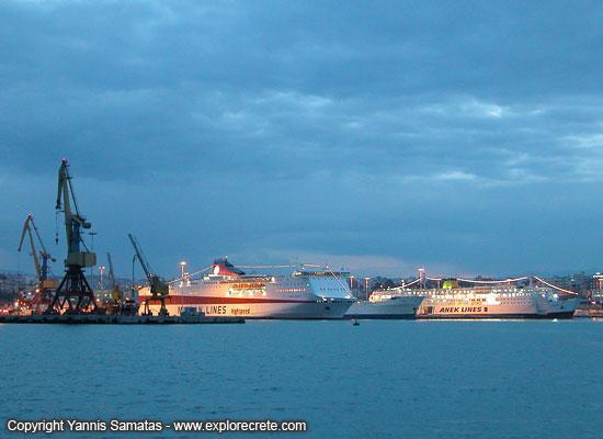 heraklion-ferries-DSCN0107 Σε ιδιώτες παραχωρείται το λιμάνι του Ηρακλείου
