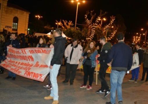 poria-grigoropoulos-3 Επεισόδια και στο Ηράκλειο μετά την πορεία για το Γρηγορόπουλο