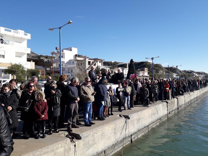0-19 Αγιασμός των υδάτων στον Δήμο Βιάννου