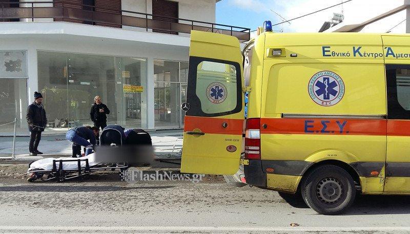 troxeo-pezos-parasirete Νεκρός ο πεζός στο τροχαίο με εγκατάλειψη στα Χανιά