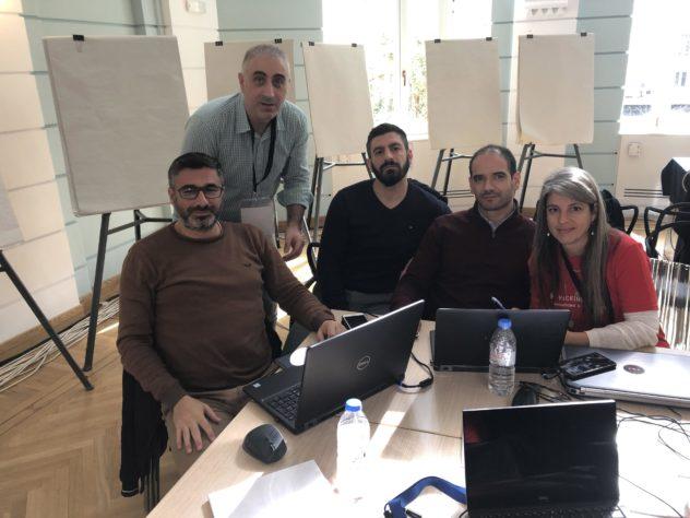 IMG_4223-e1549975359776 Πρώτο βραβείο για το ΙΤΕ στο 1ο Hacking Health στην Αθήνα!