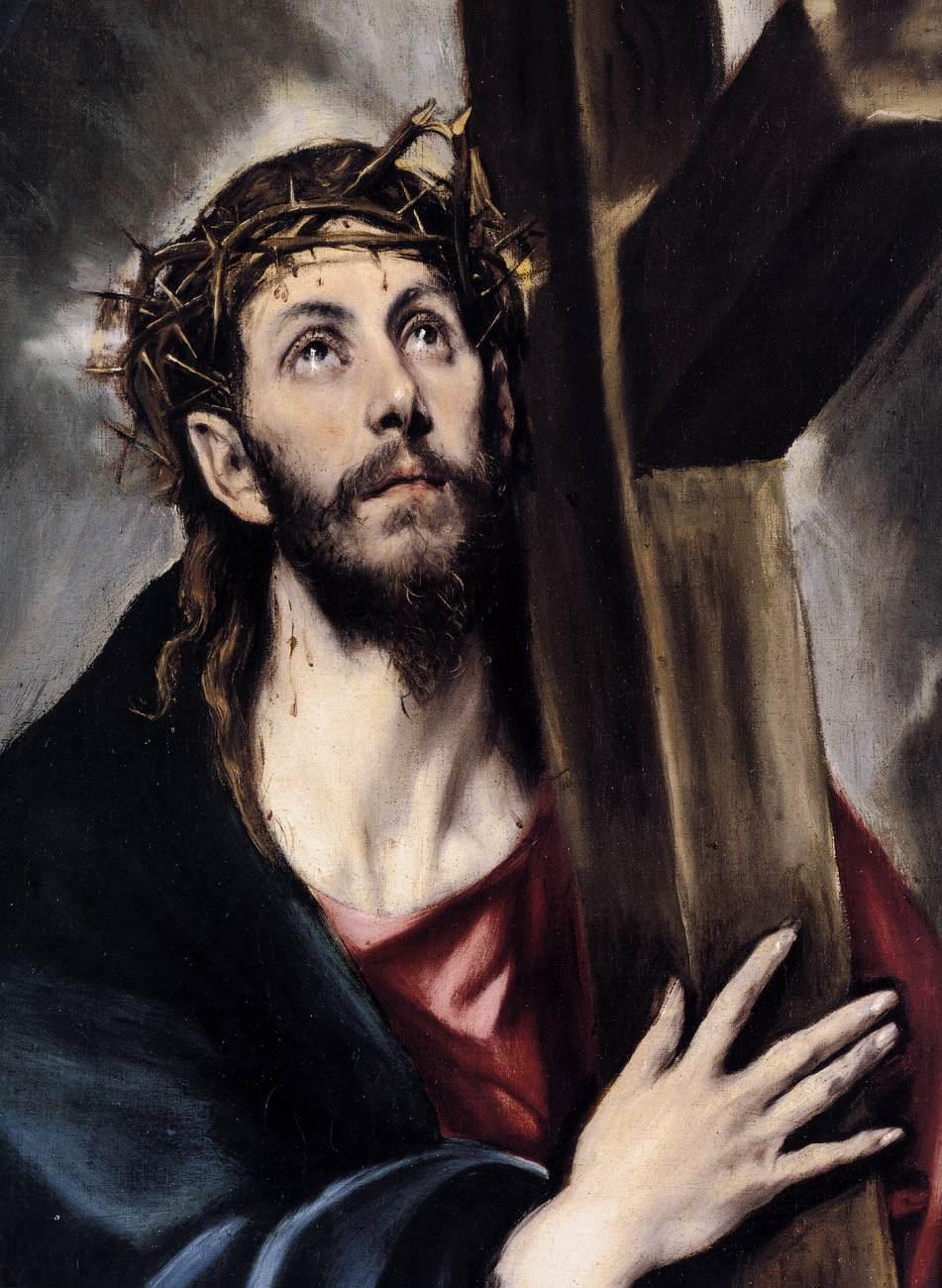 christ-carrying-the-cross-el-greco-cf80ceb5cf81-1580 ΜΕΓΑΛΗ ΠΑΡΑΣΚΕΥΗ: Ἡ Ζωή ἐν τάφῳ…