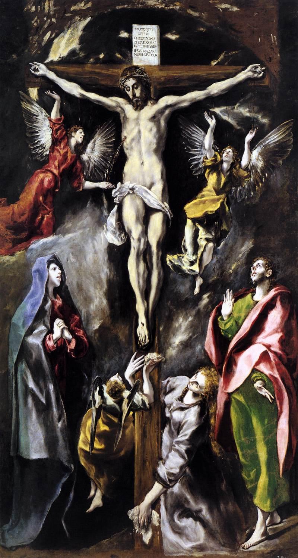 crucifixion-prado-el-greco ΜΕΓΑΛΗ ΠΑΡΑΣΚΕΥΗ: Ἡ Ζωή ἐν τάφῳ…