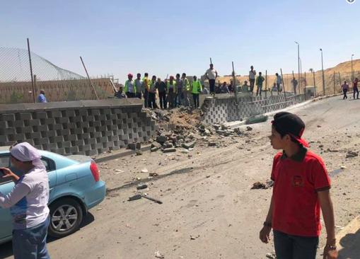 -2019-05-19-7.10.05-μμ Αίγυπτος: Εκρηξη σε τουριστικό λεωφορείο στην περιοχή των Πυραμίδων - 14 τραυματίες