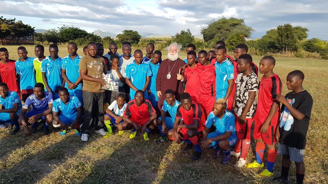 0-11-61 Ο Πατριάρχης Αλεξανδρείας ολοκλήρωσε την περιοδεία του στην Τανζανία