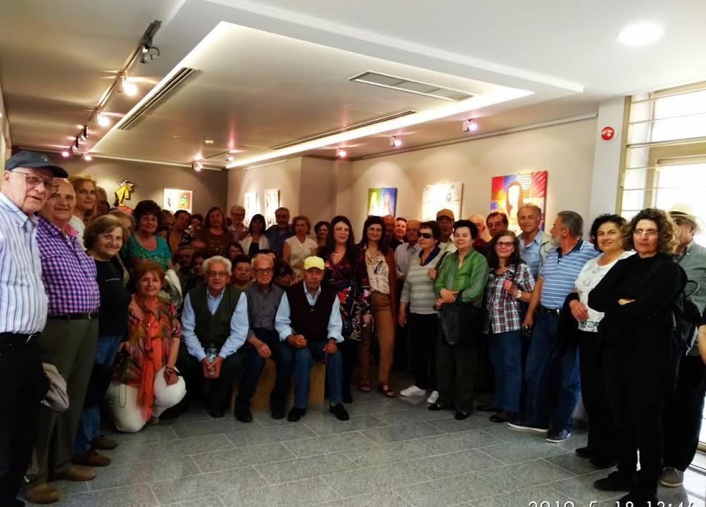 0-2-142 Συνταξιούχοι Εκπαιδευτικοί στην Πινακοθήκη Μαλεβιζίου