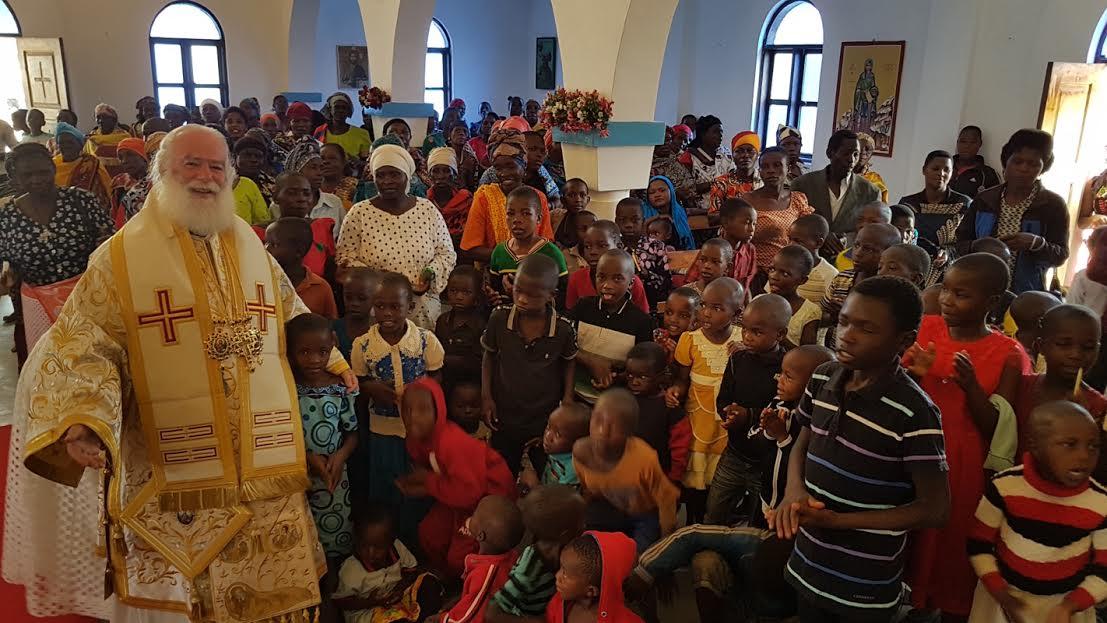 0-2-158 Ο Πατριάρχης Αλεξανδρείας ολοκλήρωσε την περιοδεία του στην Τανζανία