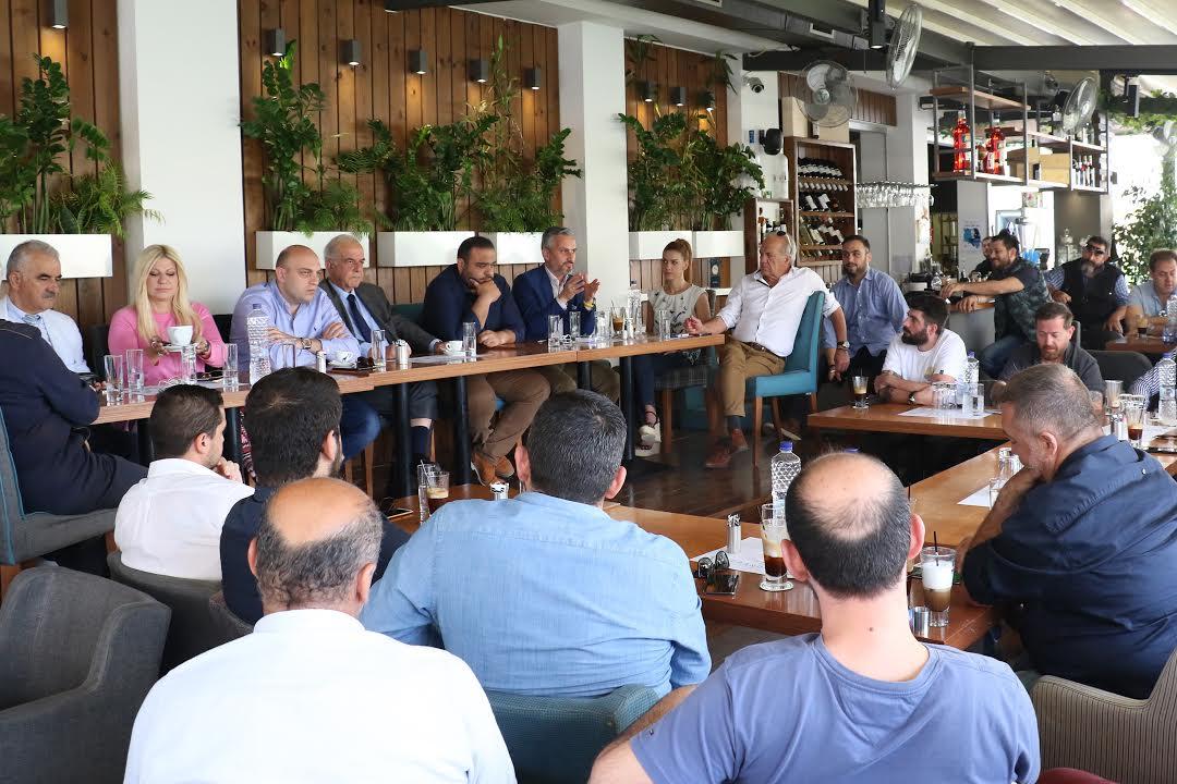0-2-97 Συνάντηση Λαμπρινού με επιχειρηματίες του κέντρου