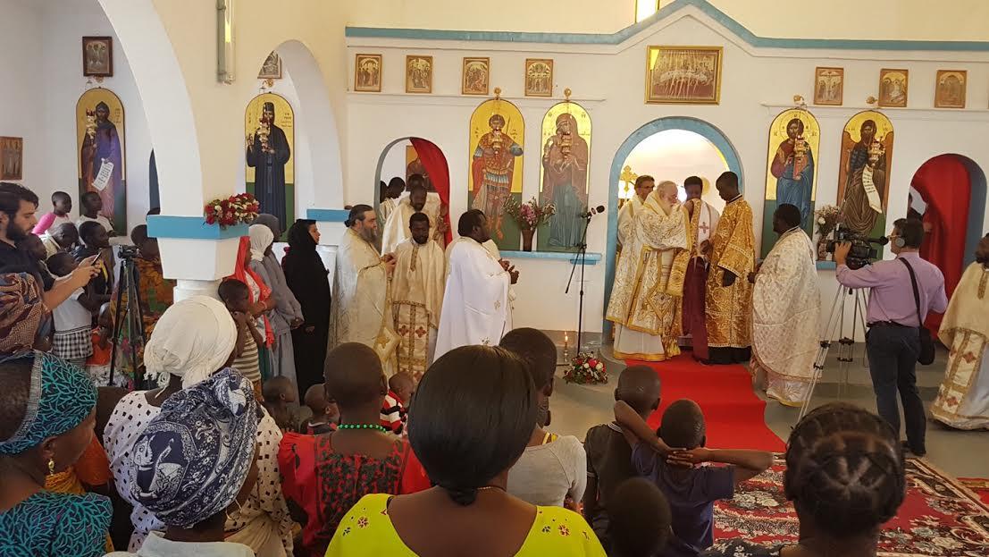 0-3-109 Ο Πατριάρχης Αλεξανδρείας ολοκλήρωσε την περιοδεία του στην Τανζανία