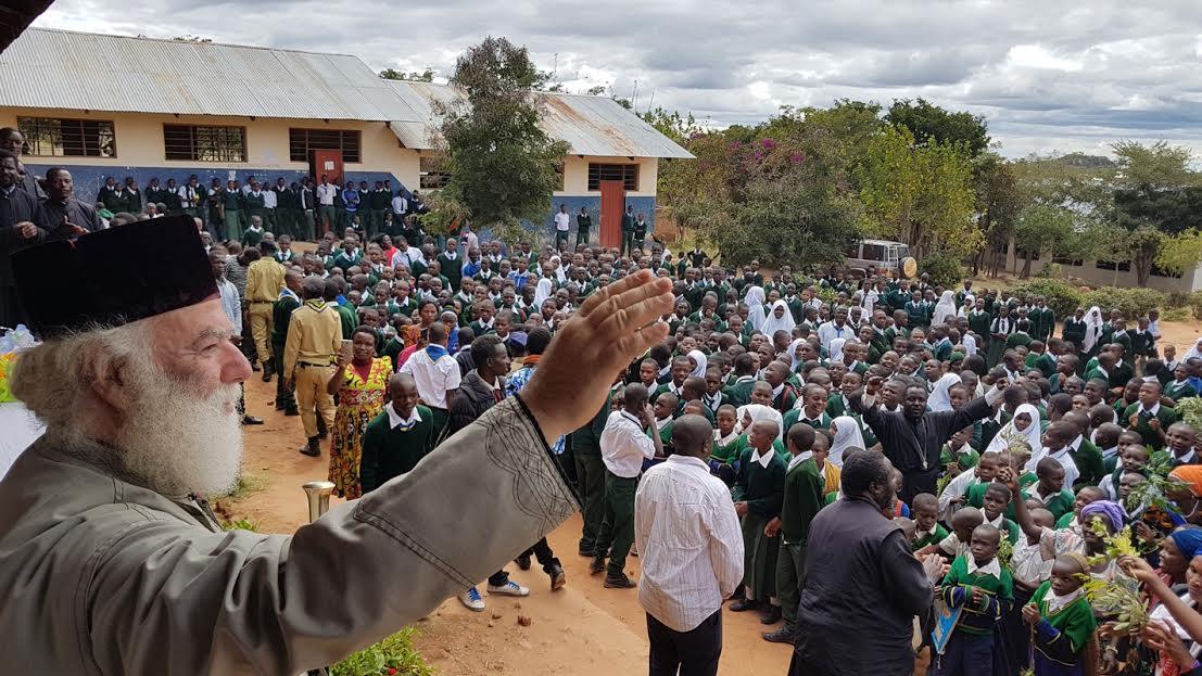 0-5-124 Ο Πατριάρχης Αλεξανδρείας ολοκλήρωσε την περιοδεία του στην Τανζανία