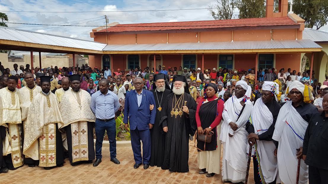 0-9-14 Ο Πατριάρχης Αλεξανδρείας ολοκλήρωσε την περιοδεία του στην Τανζανία