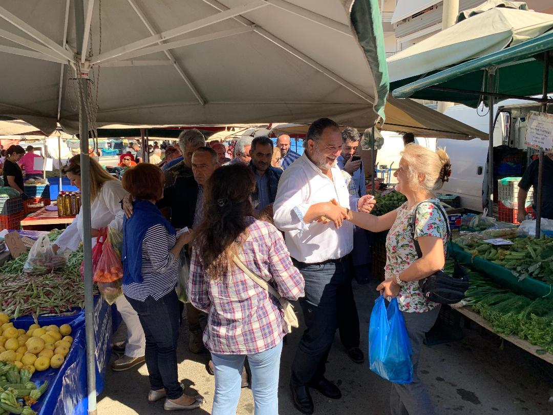 3_kourakis_laiki Στη λαϊκή αγορά του Σαββάτου ο Γιάννης Κουράκης