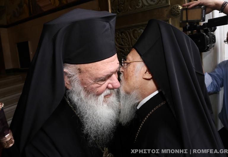 ieronimos-bartholomaios-4 Αναθερμαίνονται οι σχέσεις Φαναρίου - Εκκλησίας της Ελλάδος