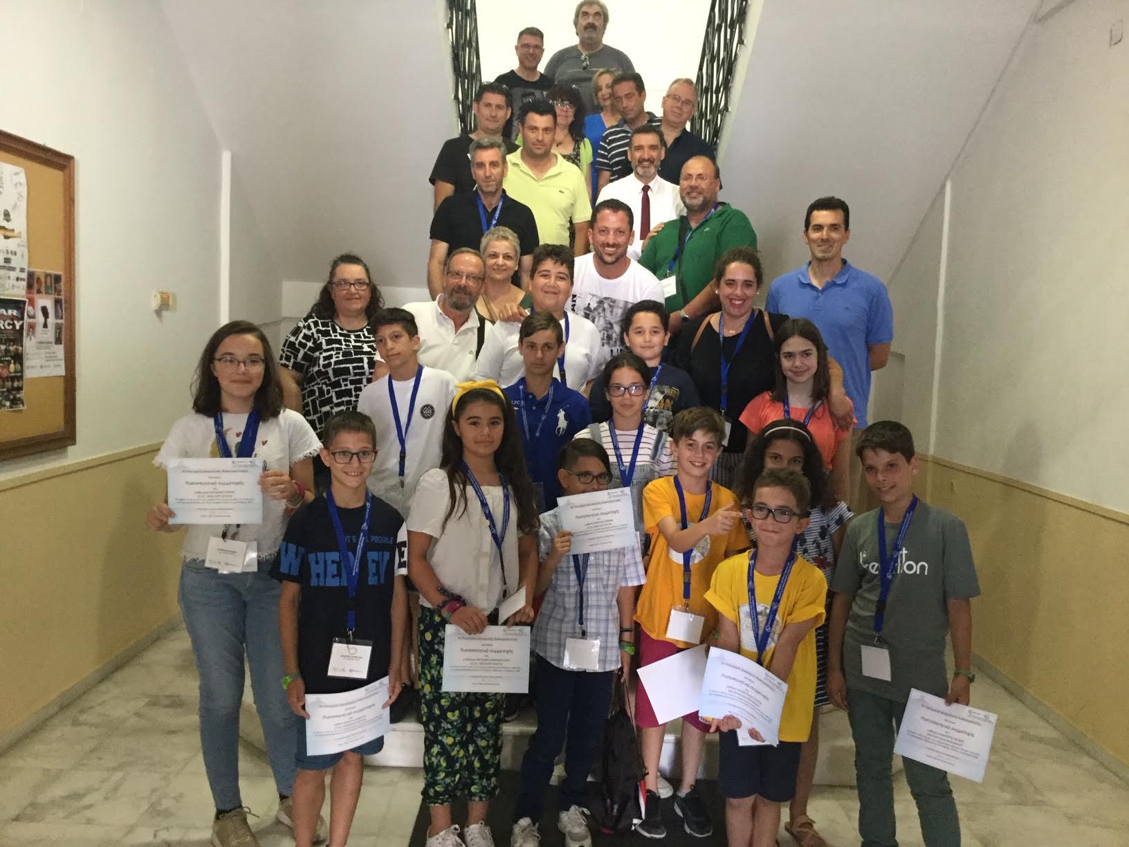 0-1-31 Βραβεία σε μαθητές που συμμετείχαν  στο «Code my City»