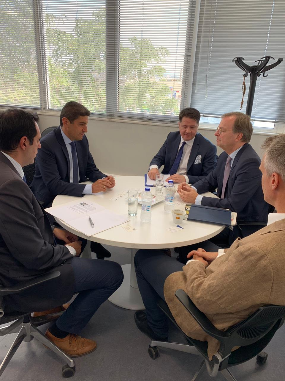 0-39 Συνάντηση Αυγενάκη με τον Γερμανό υφυπουργό Παιδείας