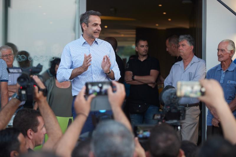 mitsotakis-kos-10-6-19 Μητσοτάκης από Κω: Ο λαός επέβαλε στον Τσίπρα να ζητήσει τη διάλυση της Βουλής