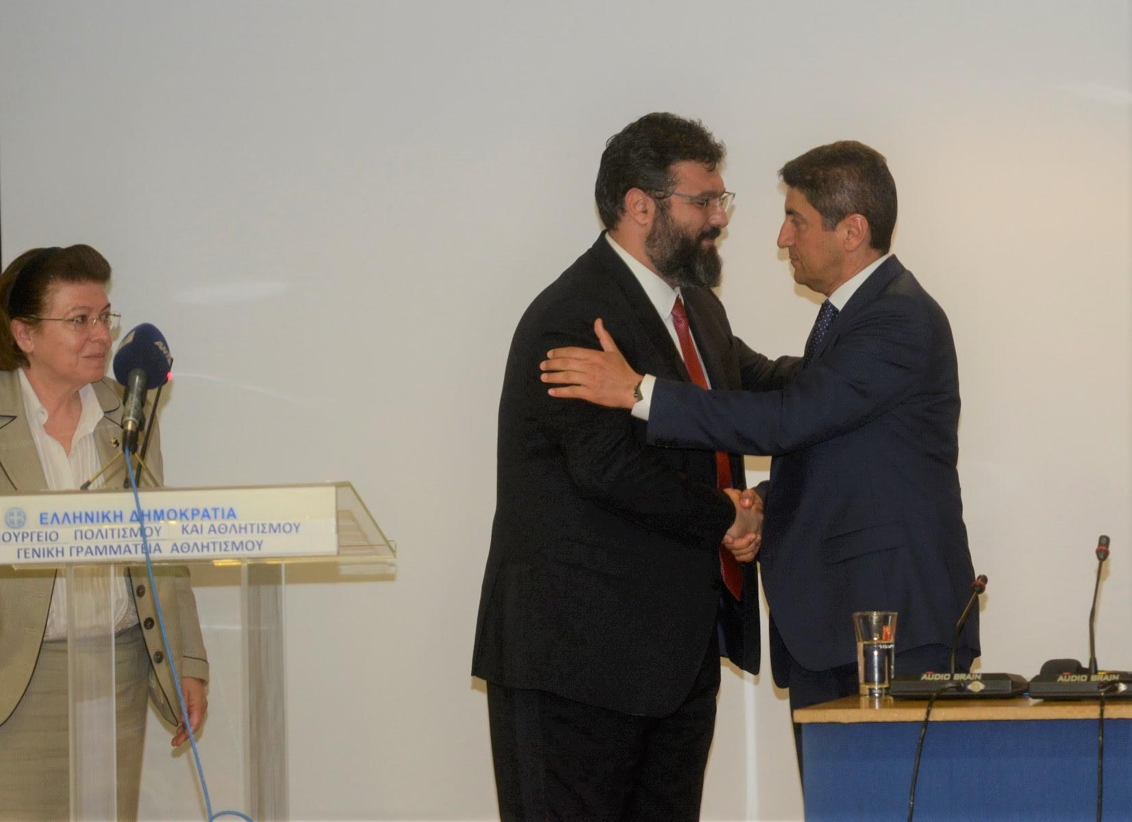 0-7-7 Λ. Αυγενάκης: «Ήταν επιλογή μου ο αθλητισμός»