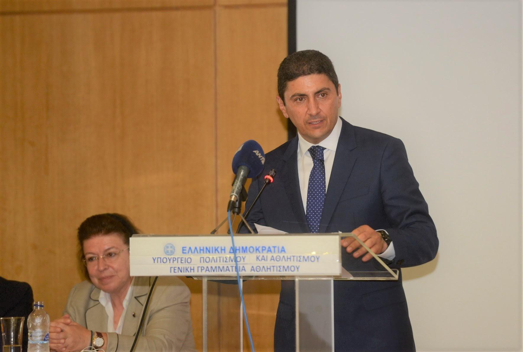0-9-4 Λ. Αυγενάκης: «Ήταν επιλογή μου ο αθλητισμός»