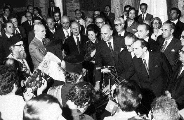 1neb41b Η αποκατάσταση της δημοκρατίας στην Ελλάδα
