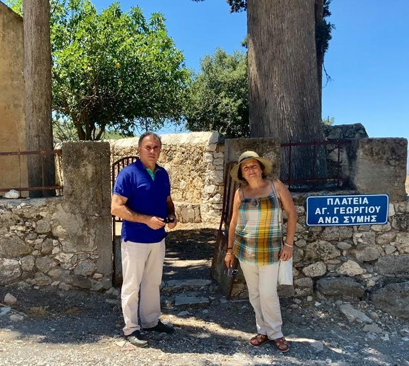 0-1-17 Ενδιαφέρον του Δημάρχου Ιεράπετρας για τα ιστορικά μνημεία