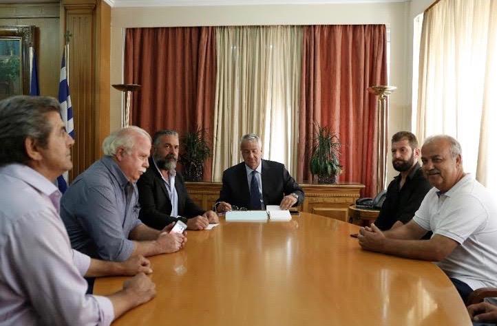 0-2-9 Συνάντηση με Βορίδη είχαν οι αγρότες της Κρήτης