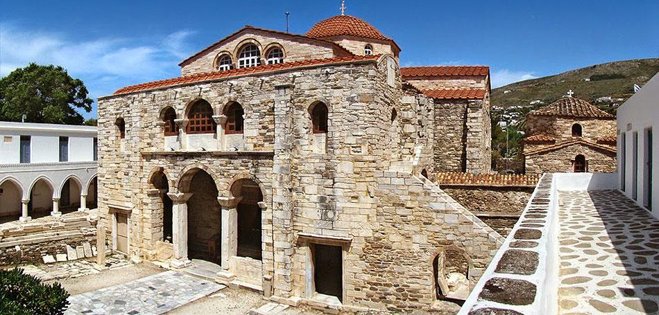 paros-mnimia1 Τα τρία μεγάλα προσκυνήματα της Παναγίας: Τήνος - Σουμελά - Πάρος