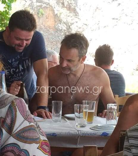 sfakia_mitsotakis Επέστρεψε στα Χανιά για Σαββατοκύριακο