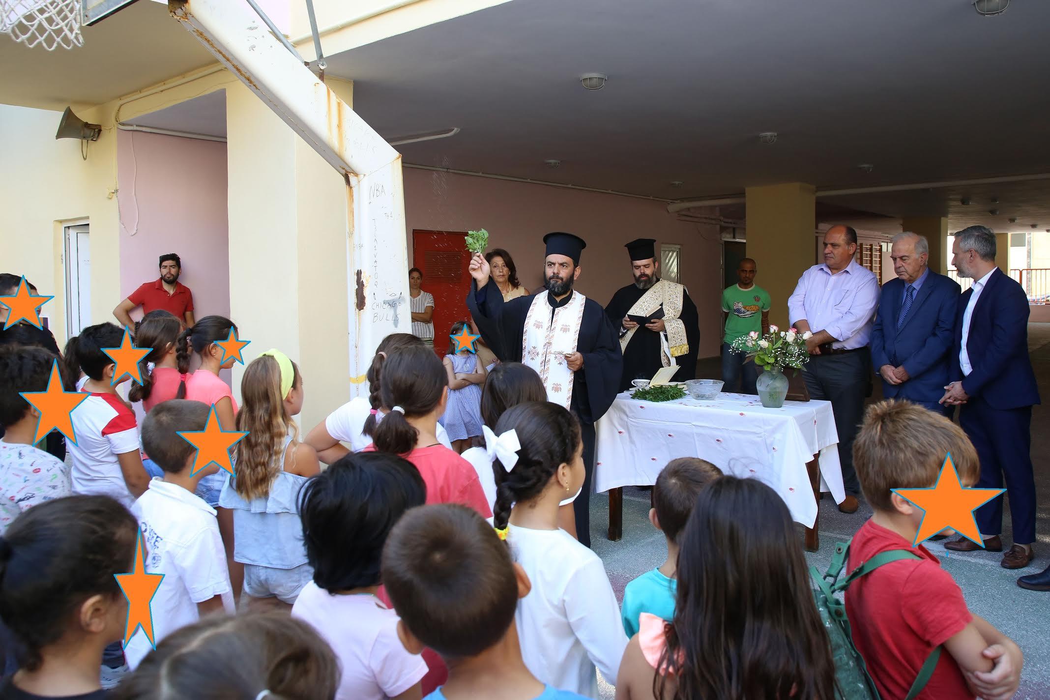 0-71 Ο Δήμαρχος Ηρακλείου σε σχολεία για τη νέα χρονιά