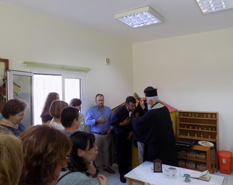 1-25 Στον Aγιασμό για τη νέα σχολική χρονιά ο Μ. Κοκολάκης