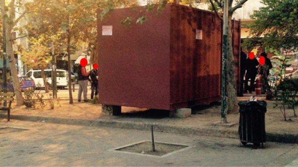 kep-exara Επιχείρηση καθαρισμού στην πλατεία Εξαρχείων από ΕΛΑΣ και Δήμο Αθηναίων