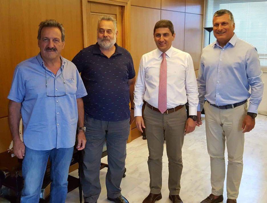 photo2 Συνάντηση του Λ. Αυγενάκη με το προεδρείο της Ελληνικής Ομοσπονδίας Ποδηλασίας