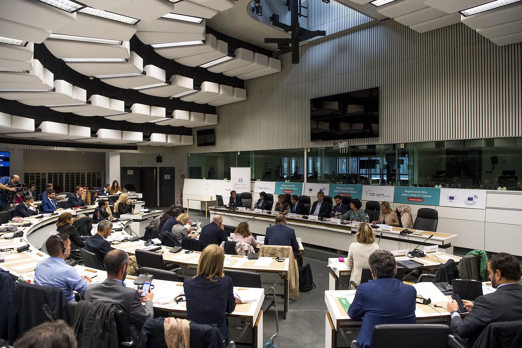 0-4-14 Δυναμική παρουσία της Περιφέρειας στις Βρυξέλλες