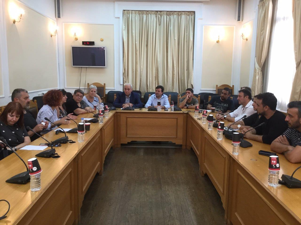 IMG_7152-2 Στήριξη από την Περιφέρεια του αγώνα των εργαζομένων στο ΚΕΘΕΑ