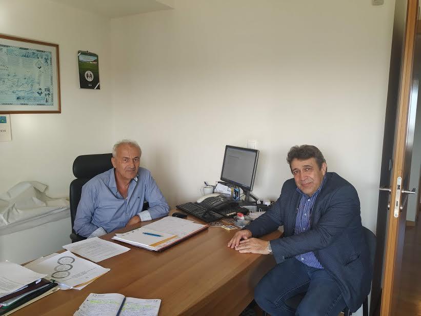 1-139 Στην ΕΑΣΗ και στην Διεύθυνση Αγροτικής Οικονομίας σήμερα ο Νίκος Ηγουμενίδης