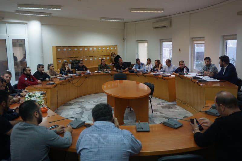 1-153 Συντονιστικό Όργανο Πολιτικής Προστασίας συγκρότησε ο Δήμος Μαλεβιζίου