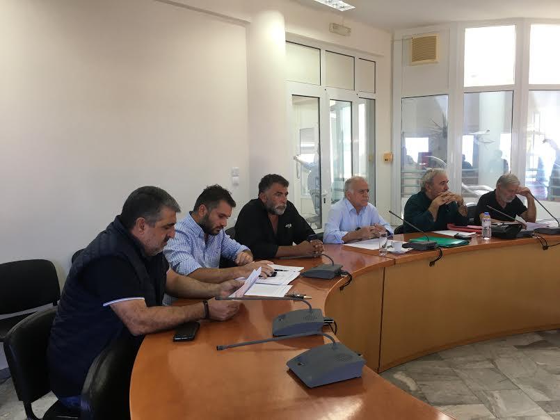 1-59 Συγκλήθηκε η Επιτροπή Ενέργειας του Δήμου Μαλεβιζίου
