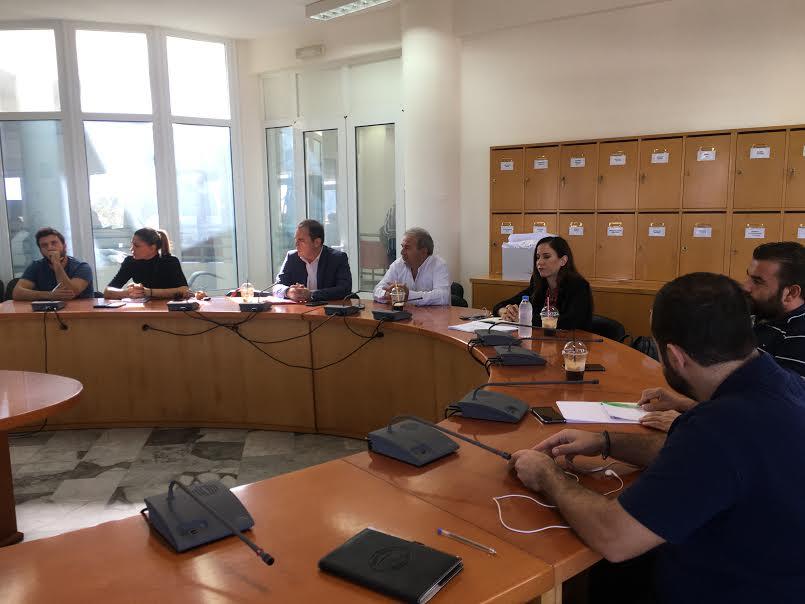 1-60 Συγκλήθηκε η Επιτροπή Ενέργειας του Δήμου Μαλεβιζίου