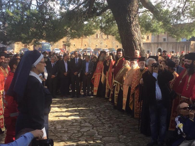 1-94 Στ. Αρναουτάκης: Η Περιφέρεια Κρήτης τιμά τους Ήρωες του Αρκαδίου