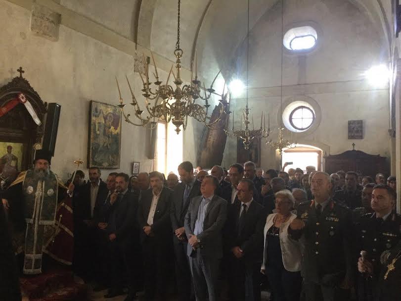 1-97 Στ. Αρναουτάκης: Η Περιφέρεια Κρήτης τιμά τους Ήρωες του Αρκαδίου