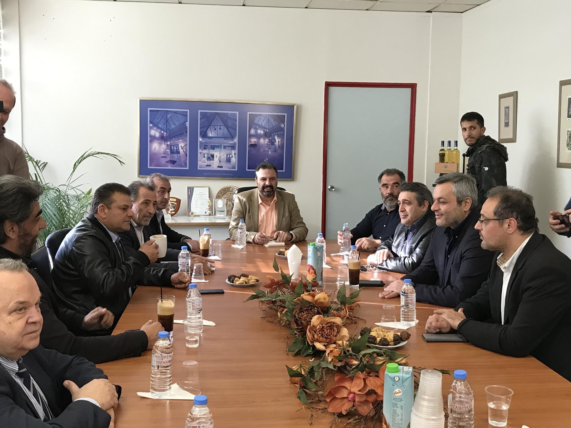 0-14 Σύσκεψη στην Ένωση Ηρακλείου με τον Στ. Αραχωβίτη