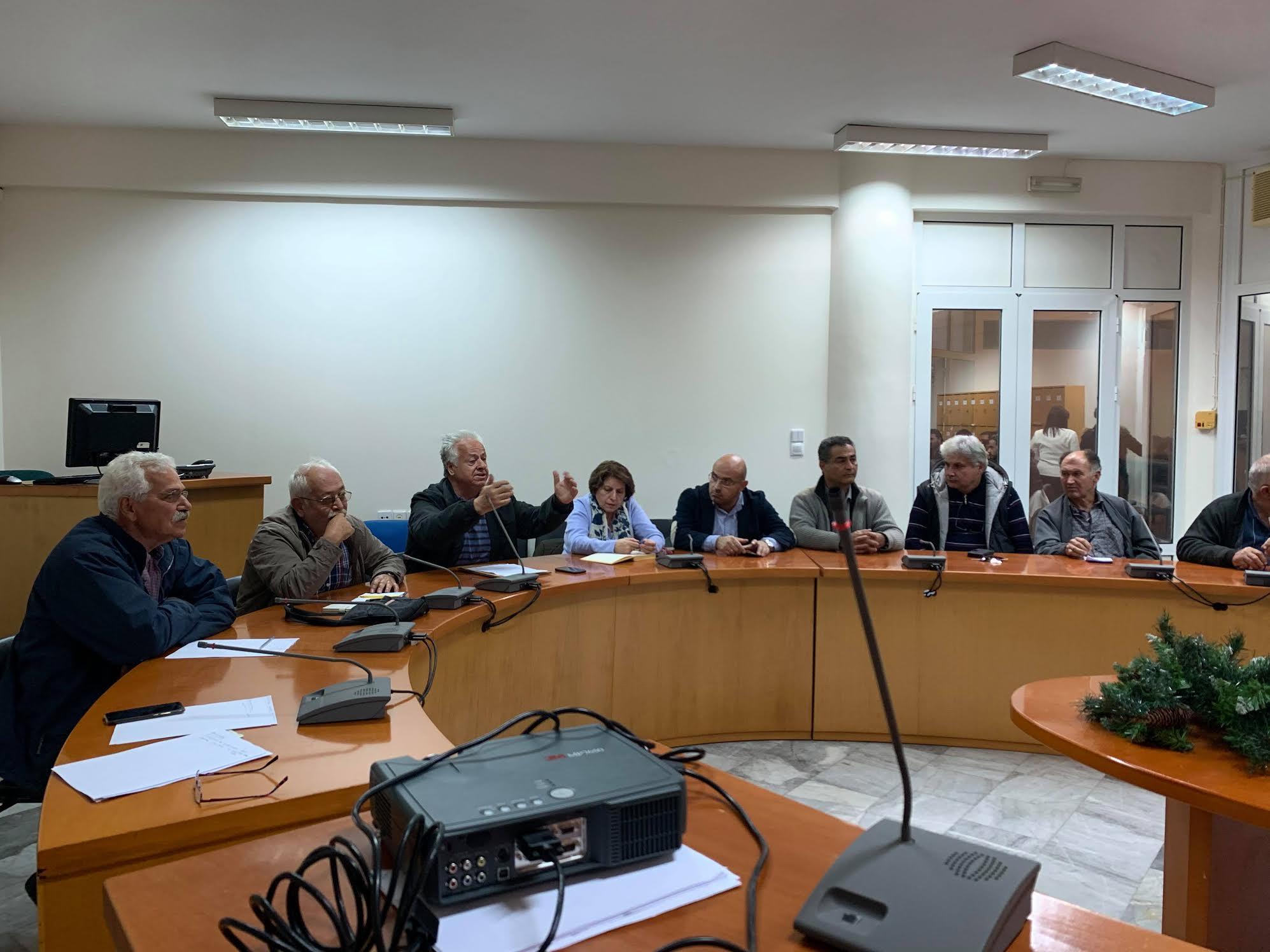 0-3-10 Σύσκεψη για τον πρωτογενή τομέα στο Μαλεβίζι