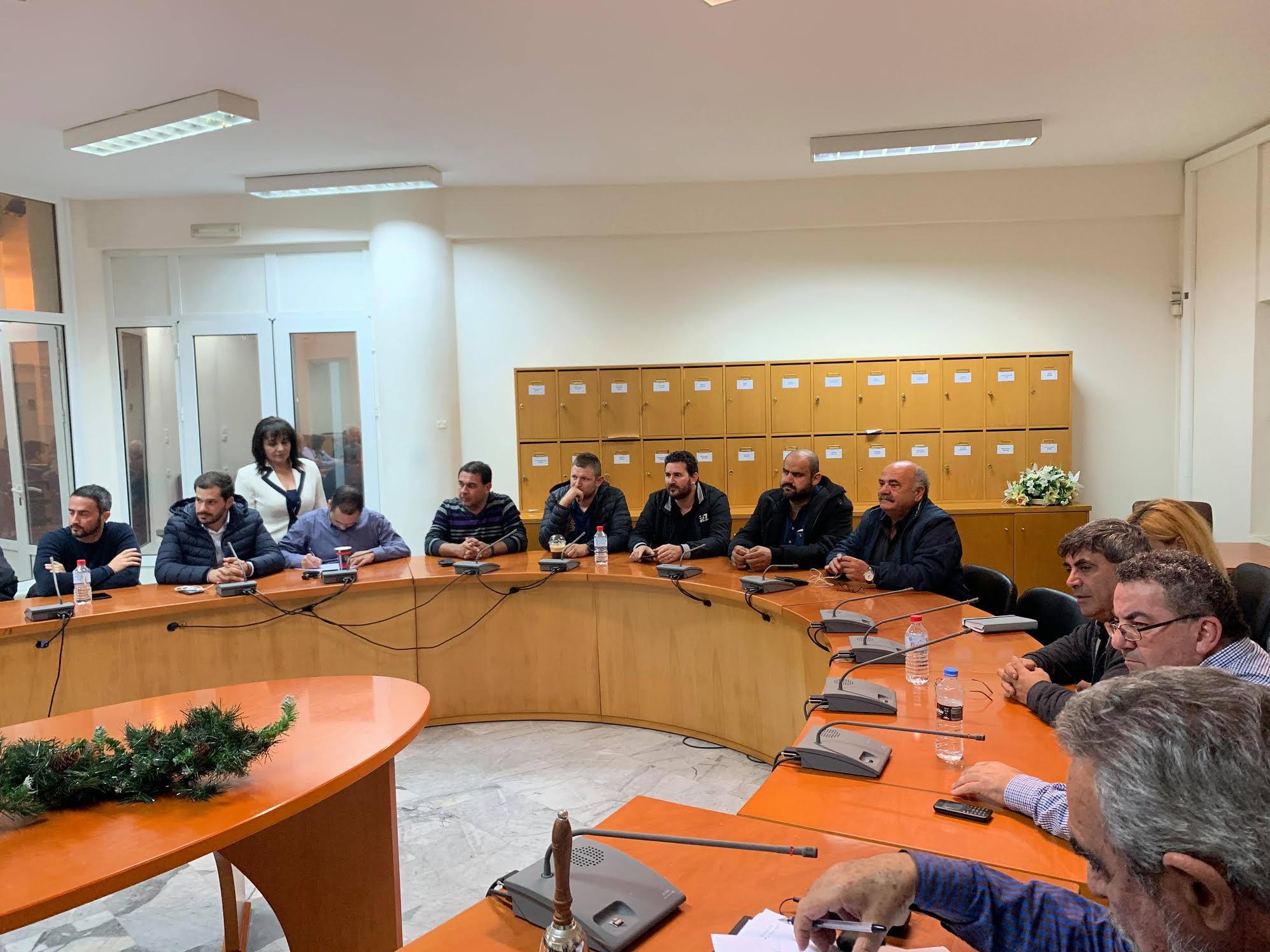 0-4-9 Σύσκεψη για τον πρωτογενή τομέα στο Μαλεβίζι