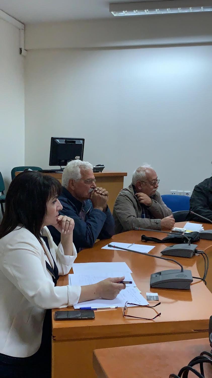 0-6-4 Σύσκεψη για τον πρωτογενή τομέα στο Μαλεβίζι